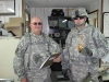 1SGT Thoelke and CPT Sprecher