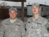 SSG Eric Lewis and SPC Robert Ramburg