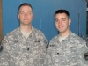 CPT Keith Voss and SPC Todd Beynon